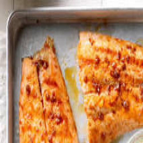 GRILLED GINGER SALMON